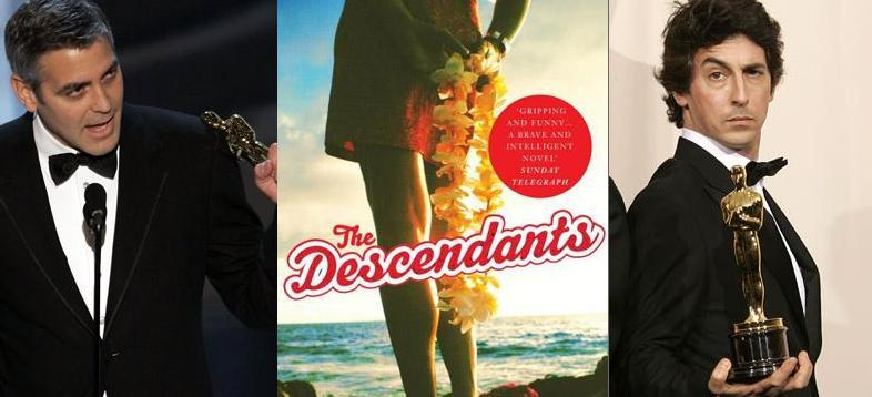 THE DESCENDANTS; is based on the book by author Kaui Hart Hemmings.