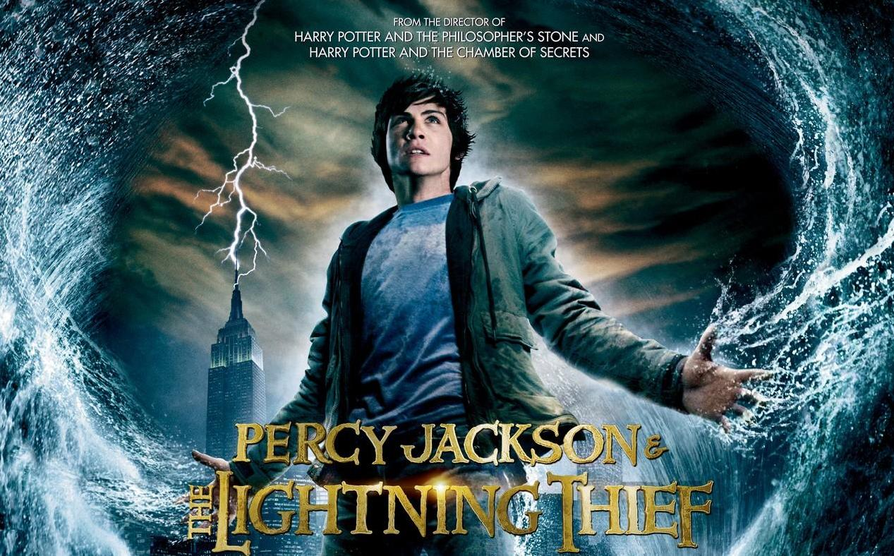 Percy Jackson Lightning Thief Book