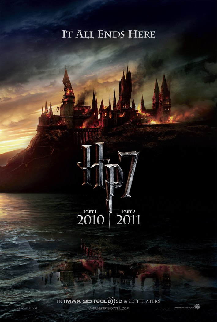 HARRY POTTER AND THE DEATHLY HALLOWS: PART 1 opens November 19th, 2010