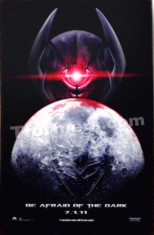 Look At TRANSFORMERS: DARK OF THE MOON First Teaser Poster