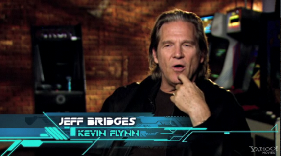 tron legacy jeff bridges young. LEGACY about Jeff Bridges#39;