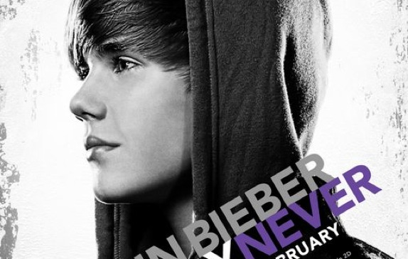 That Justin Bieber 3D concert movie you've been waiting for, NEVER SAY NEVER