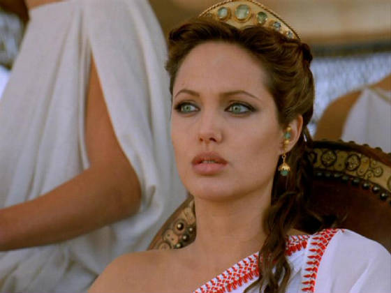 angelina jolie cleopatra movie. Angelina Jolie attached to